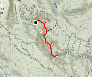 Hiji Falls Trail Map