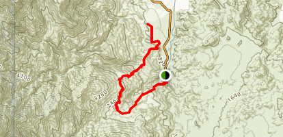 West Fork North Trail Map