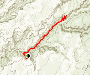 Moqui Canyon Map