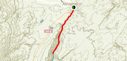 Alexandra Gold Trail Map