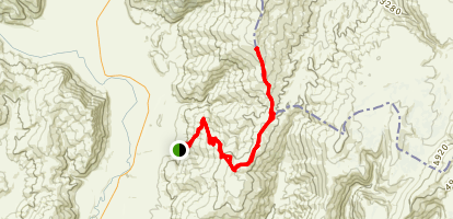 Nevis Saddle Map