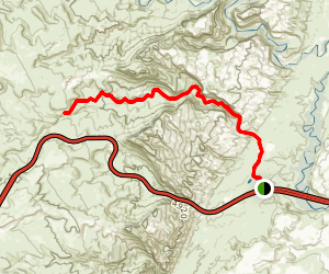 Black Dragon Wash Trail Map