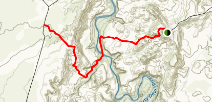 Angel Point Trail Map
