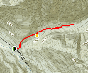 Sulphur Creek Trail Map
