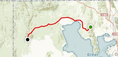 Transcontinental Railroad Drive Map