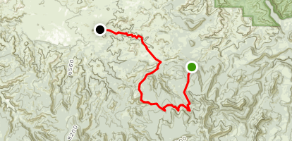 Beef Basin Trail Map