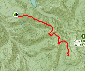 Lily Basin Trail Map