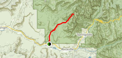 Scoggins Wash Trail Map