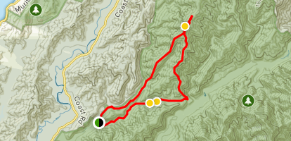 Mount McKerrow Loop Map