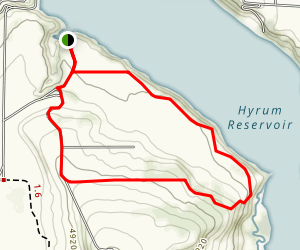 Hyrum State Park Trail Map