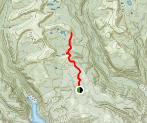 Swasey Lakes Trail Map