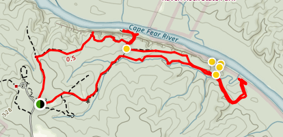 Little Creek Loop Map