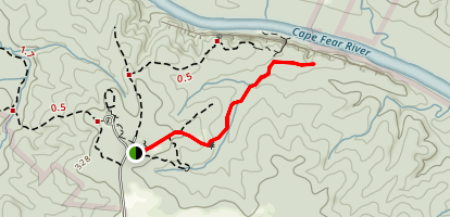 Group Camp Trail Map