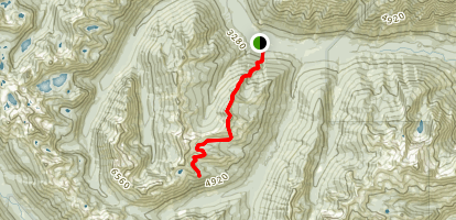 Black Jack Ridge Trail Map