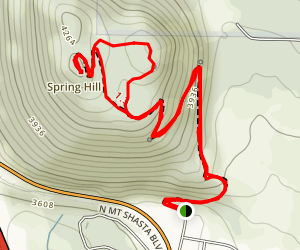 Spring Hill Trail Map