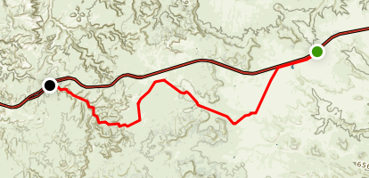 Swasey's Cabin Trail Map