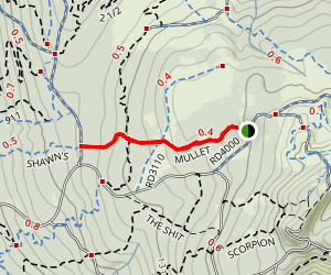 Mullet Trail Map
