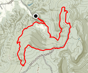 North Pocket Loop Trail Map