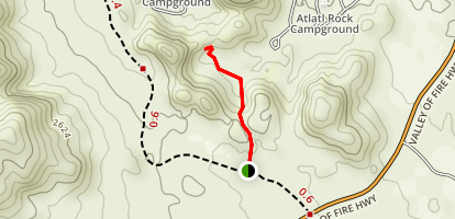 Piano Rock Trail Map