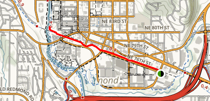 Redmond Central Connector Trail Map