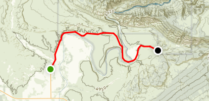 Dinosaur National Monument Scenic Drive Map