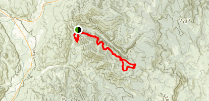Finley Canyon Loop Map