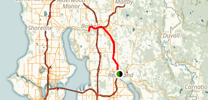 Sammamish River Trail Map