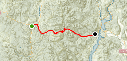 Sherman Pass Scenic Byway Map