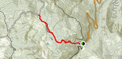 Squilchuck Trail Map