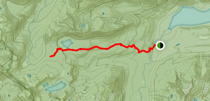 Swamp Lake Trail Map