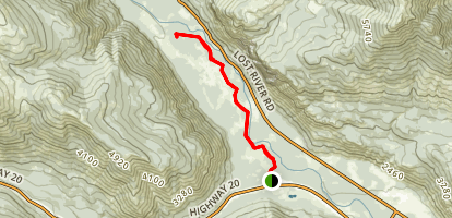 Lower River Run to Upper River Run Trail Map