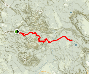 Geyser Pass Road Map