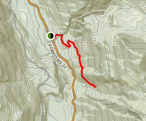 High Log Trail  Map