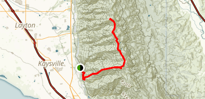 Thurston Peak Trail Map