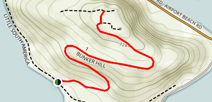 Bunker Hill Trail Map