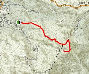Stoney Bay Peak Map