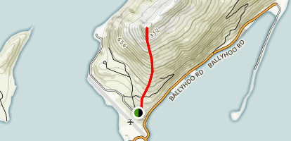 Mount Ballyhoo Map