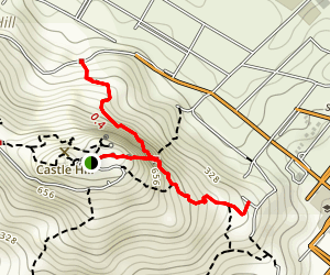 Goat Track Summit Trail Map