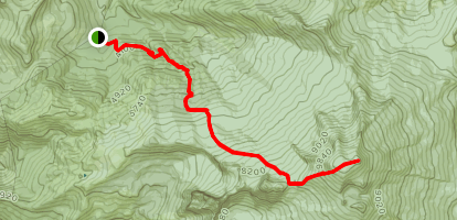 Coleman Glacier Via Heliotrope Ridge Trail Map
