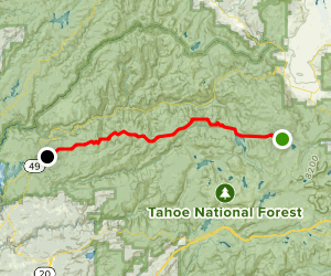 Henness Pass Road Map
