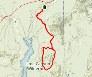 Gold Butte Back Country Byway Map