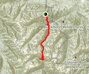 Gray Wolf Pass Map
