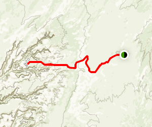 Robbers Roost Canyon Map