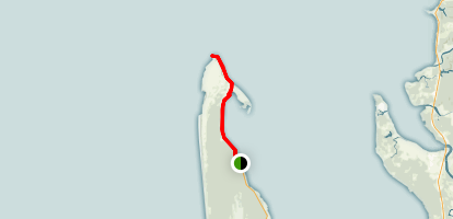 Leadbetter Point Trail Map