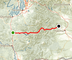 White Pass Scenic Byway Map