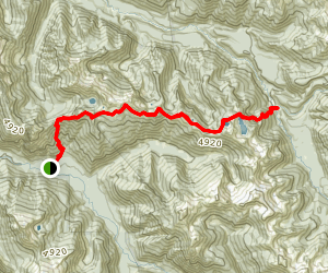 Lost Creek Ridge Trail Map