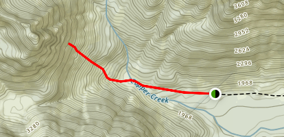 Green Giant Buttress: Dreamer and Giant Tears Route Map