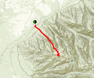 Ruby Dome Trail Map