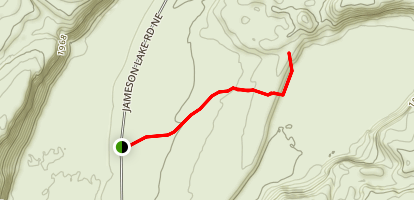 Moses Coulee Trail Map