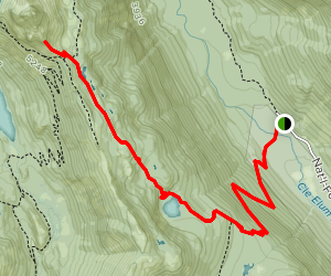 Cathedral Rock Trail Map